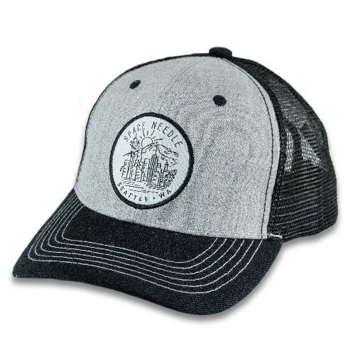 Patch Skyline Trucker Baseball Cap