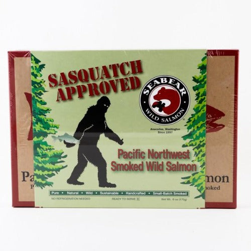 SeaBear Sasquatch Approved Smoked Salmon