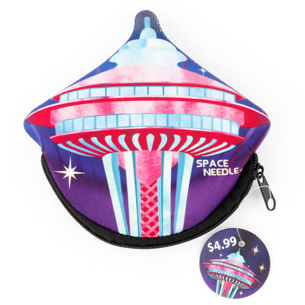 Space Needle Coin Purse