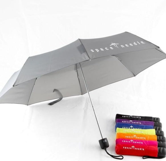 Space Needle Logo Compact Umbrella
