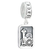 Sterling Silver Assorted Space Needle Bracelet Charms