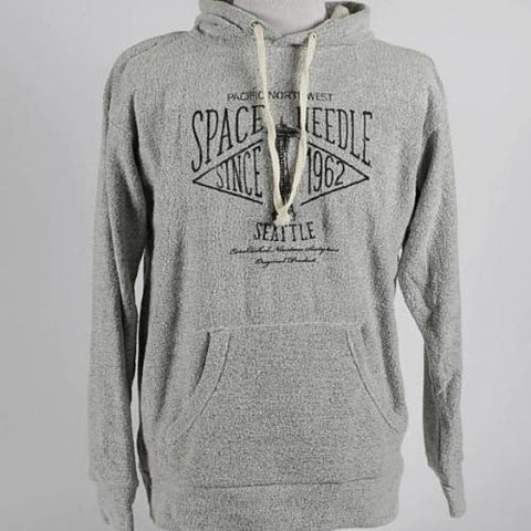 Textured Hooded Sweatshirt