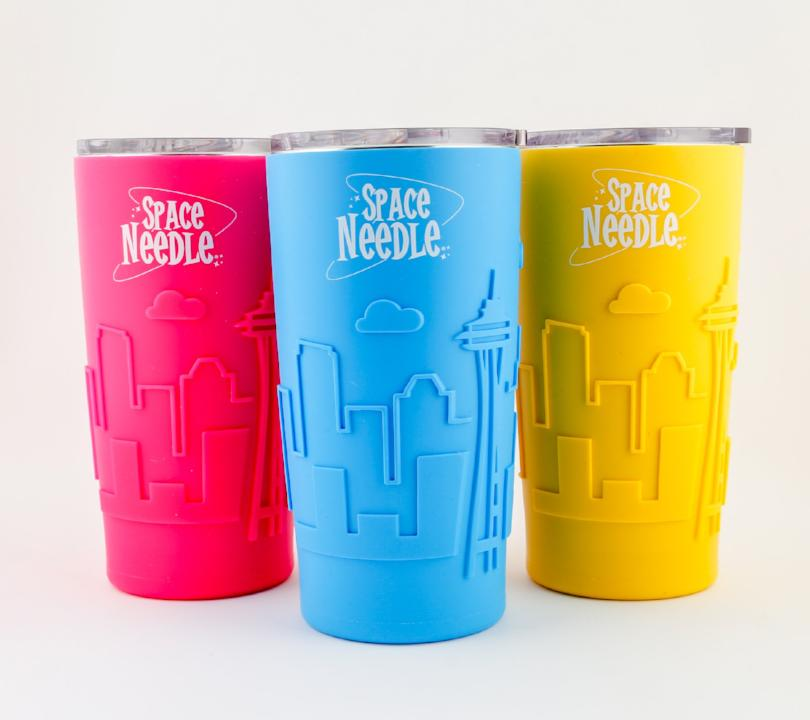 Seattle Silicone Travel Tumbler