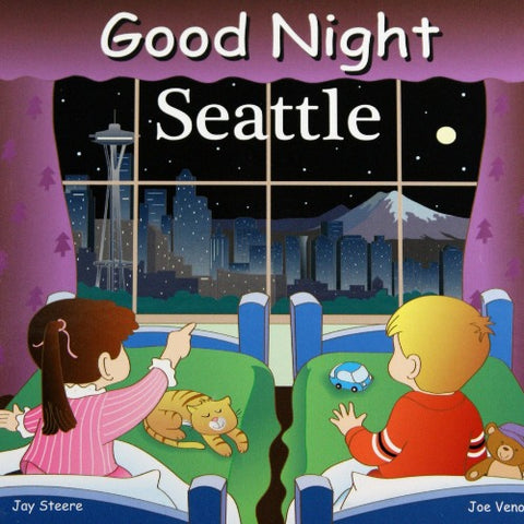 Good Night Seattle Board Book