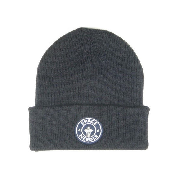 Space Needle Patch Youth Knit Hat