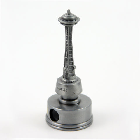 Space Needle Pewter Pencil Sharpener