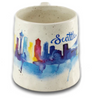 Watercolor Skyline Mug