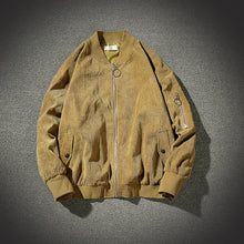 Load image into Gallery viewer, Oversize Men Corduroy Jacket Ma1 Bomber Jacket