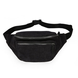 Canvas Waist Bag Unisex