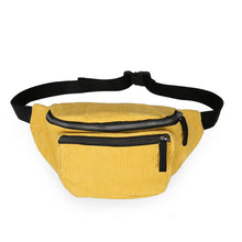 Load image into Gallery viewer, Canvas Waist Bag Unisex