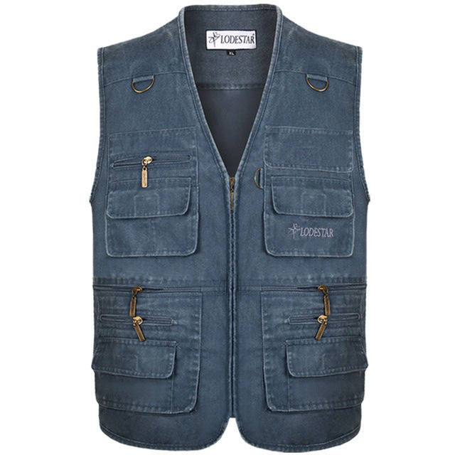 Denim Vest Men's Jacket Sleeveless