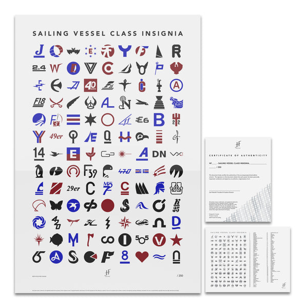Sailing Vessel Class Insignia, Colour, Limited Edition