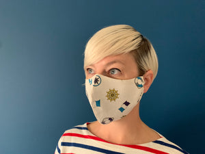 Nautical Face Mask