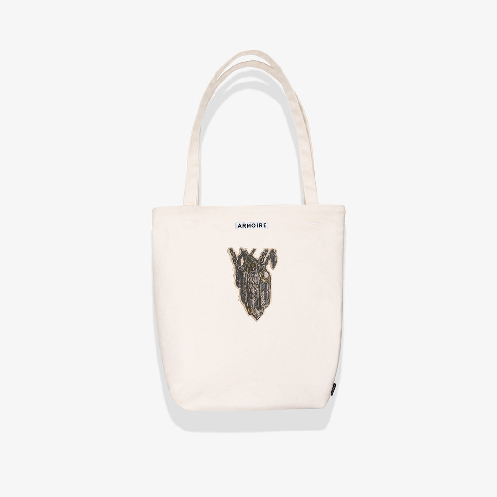 ARMOIRE FEATHERS DMCB TOTE BAG