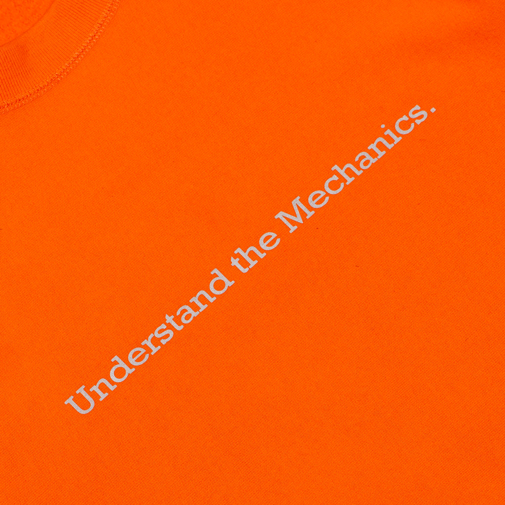 UNDERSTAND THE MECHANICS CREWNECK