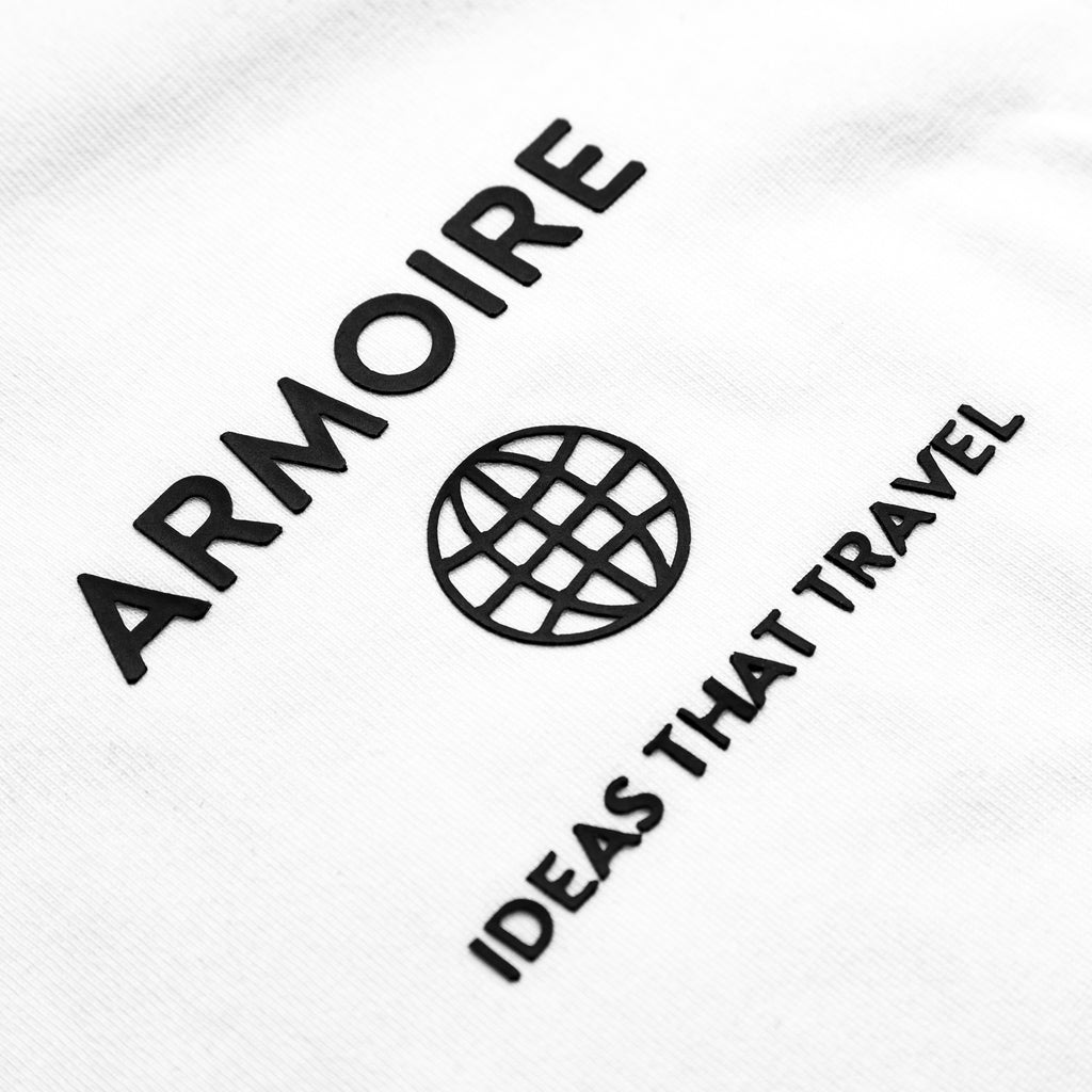 ARMOIRE IDEAS THAT TRAVEL LOGO TEE