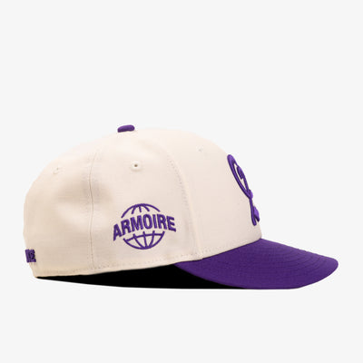 ARMOIRE / New Era Low Profile 59FIFTY ARMY FACULTY Fitted Hat - Purple