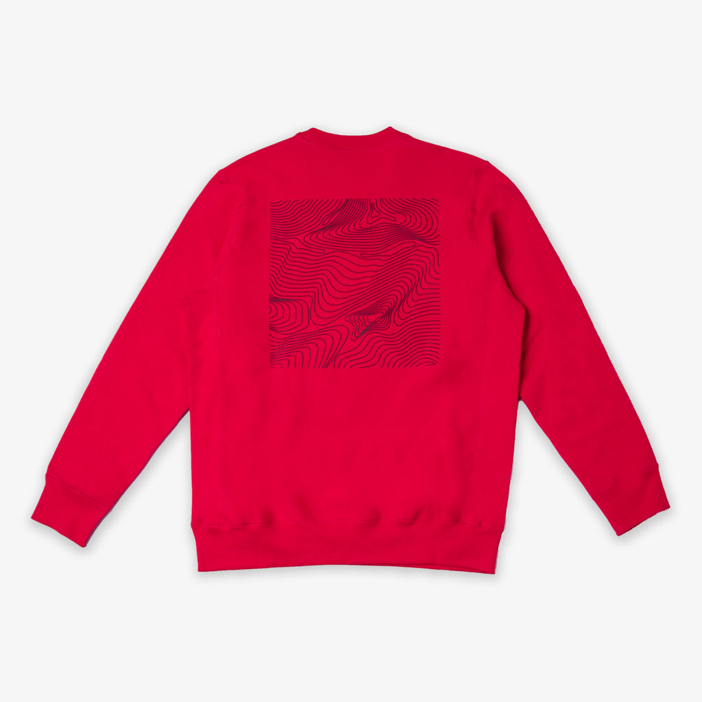 ARMOIRE The World Belongs to the Creators Crewneck - Red