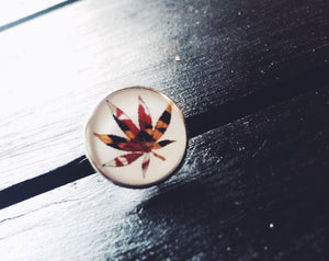 Maryland Cannabis Leaf Pin