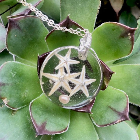 Dreaming of Starfish Necklace