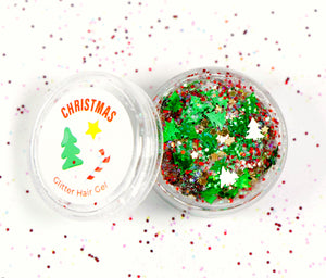 Christmas Glitter Hair Gel