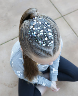 Snowflake Glitter Hair Gel.2