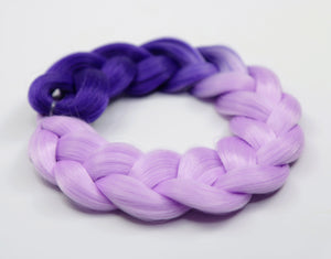 Purple Ombre Kanekalon Hair