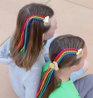 Rainbow Twist Clip