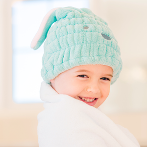 Mint Green Hare Towel