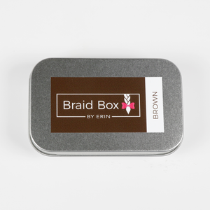 Brown Elastic Tin Kit