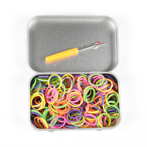 Rainbow Elastic Tin Kit