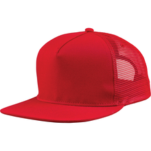 Load image into Gallery viewer, 5 Panel Cotton Twill Mesh Snapback - 9255 Hats - Cali Headwear
