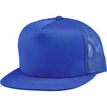 Load image into Gallery viewer, 5 Panel Foam Mesh Snapback - 9265 Hats - Cali Headwear
