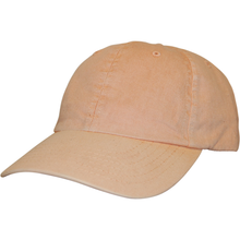 Load image into Gallery viewer, 6 Panel Garment Dyed Dad Hat - GD30