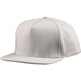 US01PW 5 Panel Twill Snapback Grey