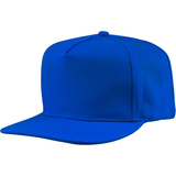 US01PW 5 Panel Twill Snapback Royal