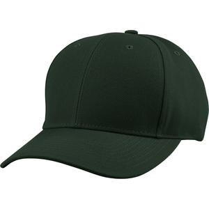 6 Panel Cap w/Curved Bill - US04