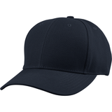 US04 6 Panel Cap Curved Bill Dark Navy