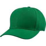 US04 6 Panel Cap Curved Bill Kelly Green