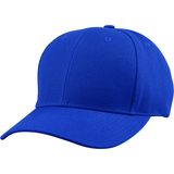 US04 6 Panel Cap Curved Bill Royal