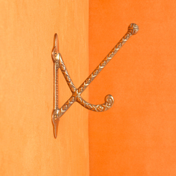 The Ludovica Hook - Brass