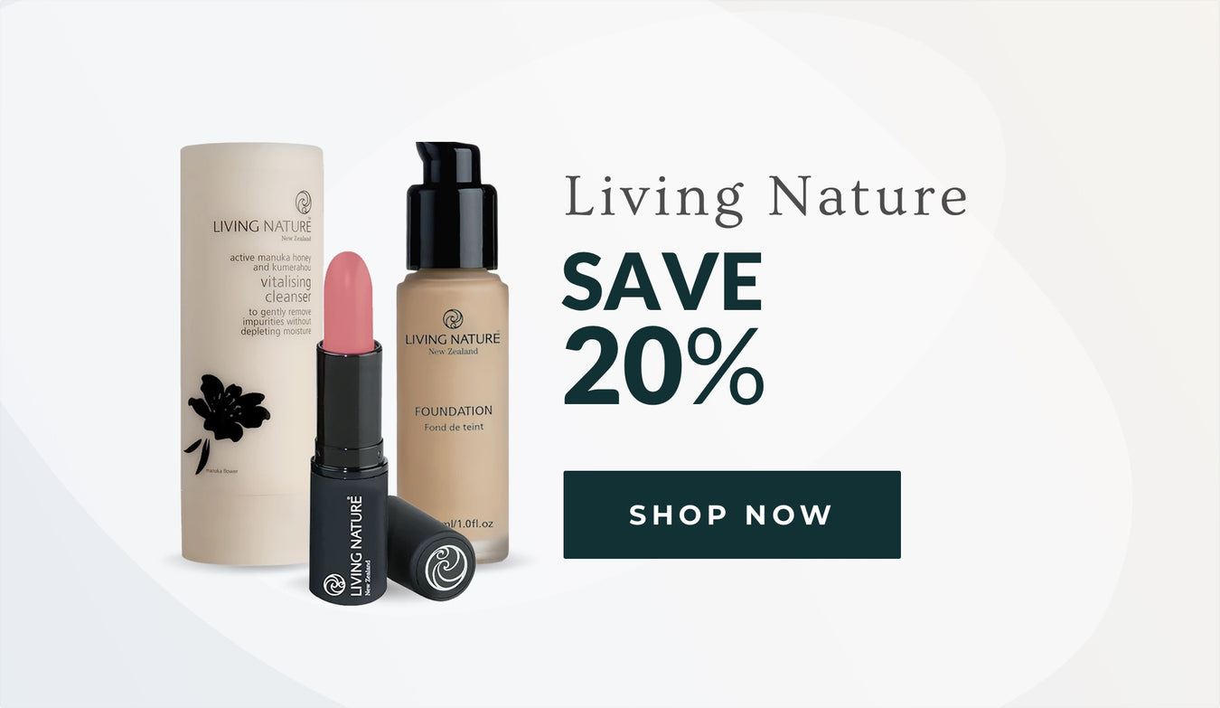 20% off Living Nature