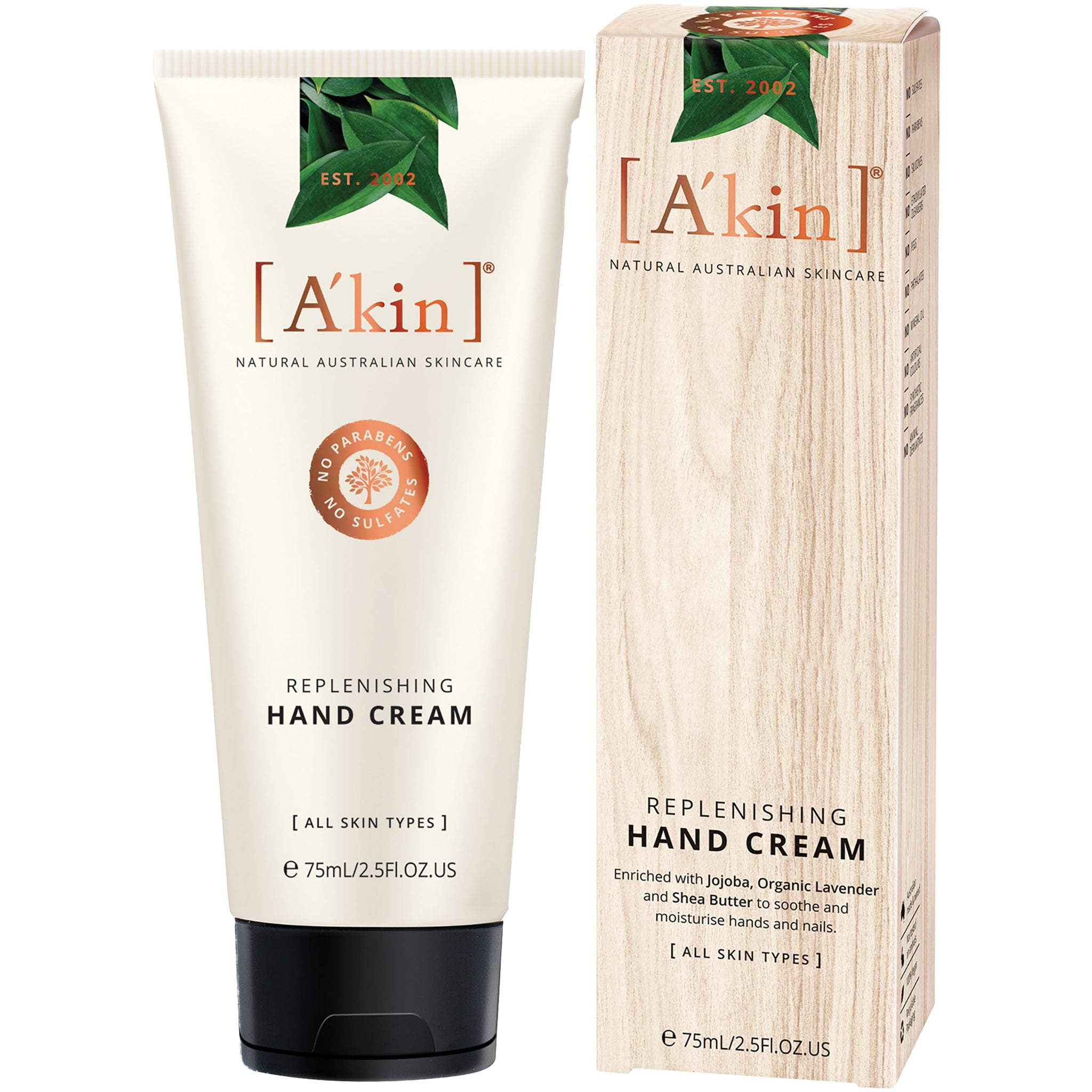 Replenishing Hand Cream with Jojoba, Organic Lavender and Shea Butter