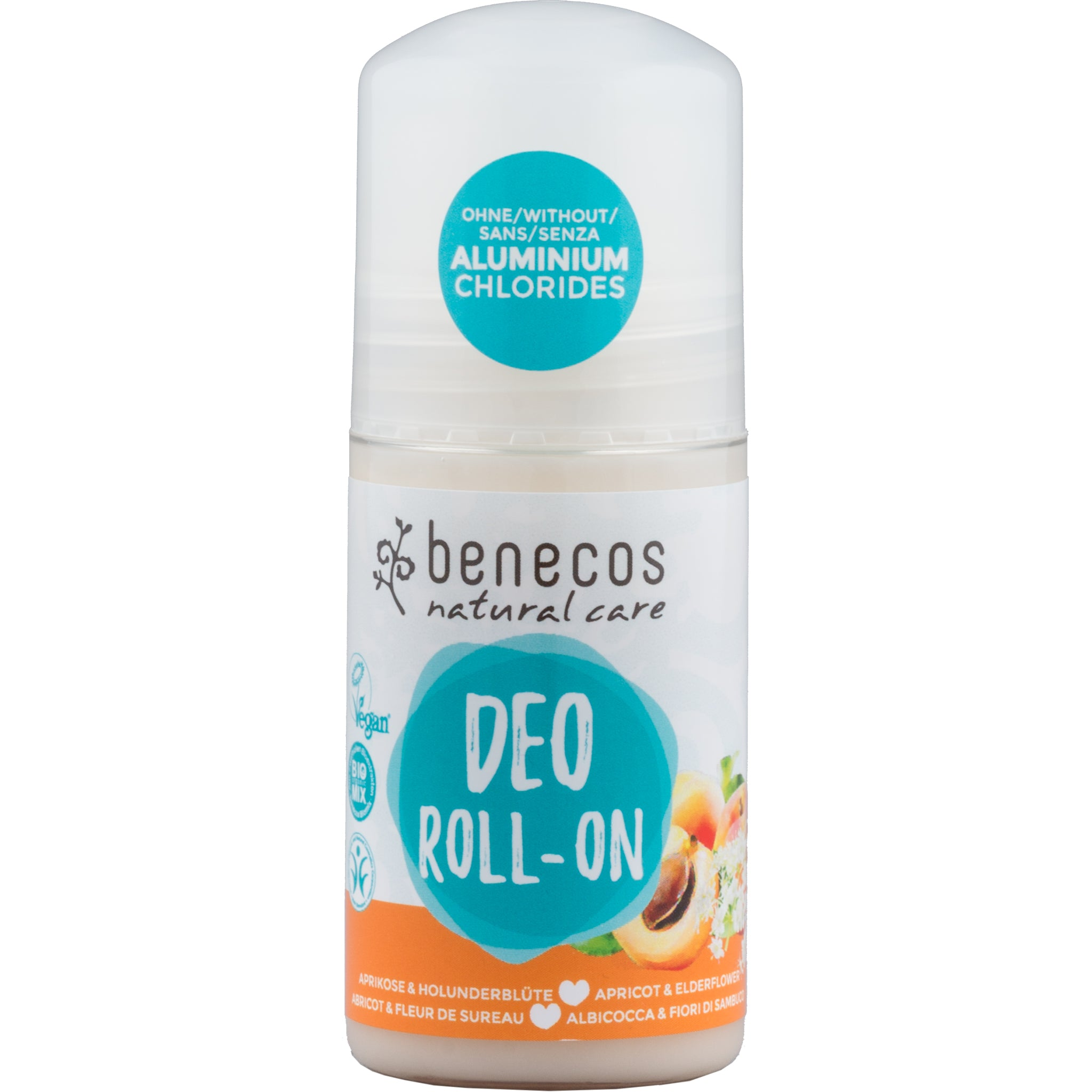 Natural Roll On Deodorant - Apricot & Elderflower