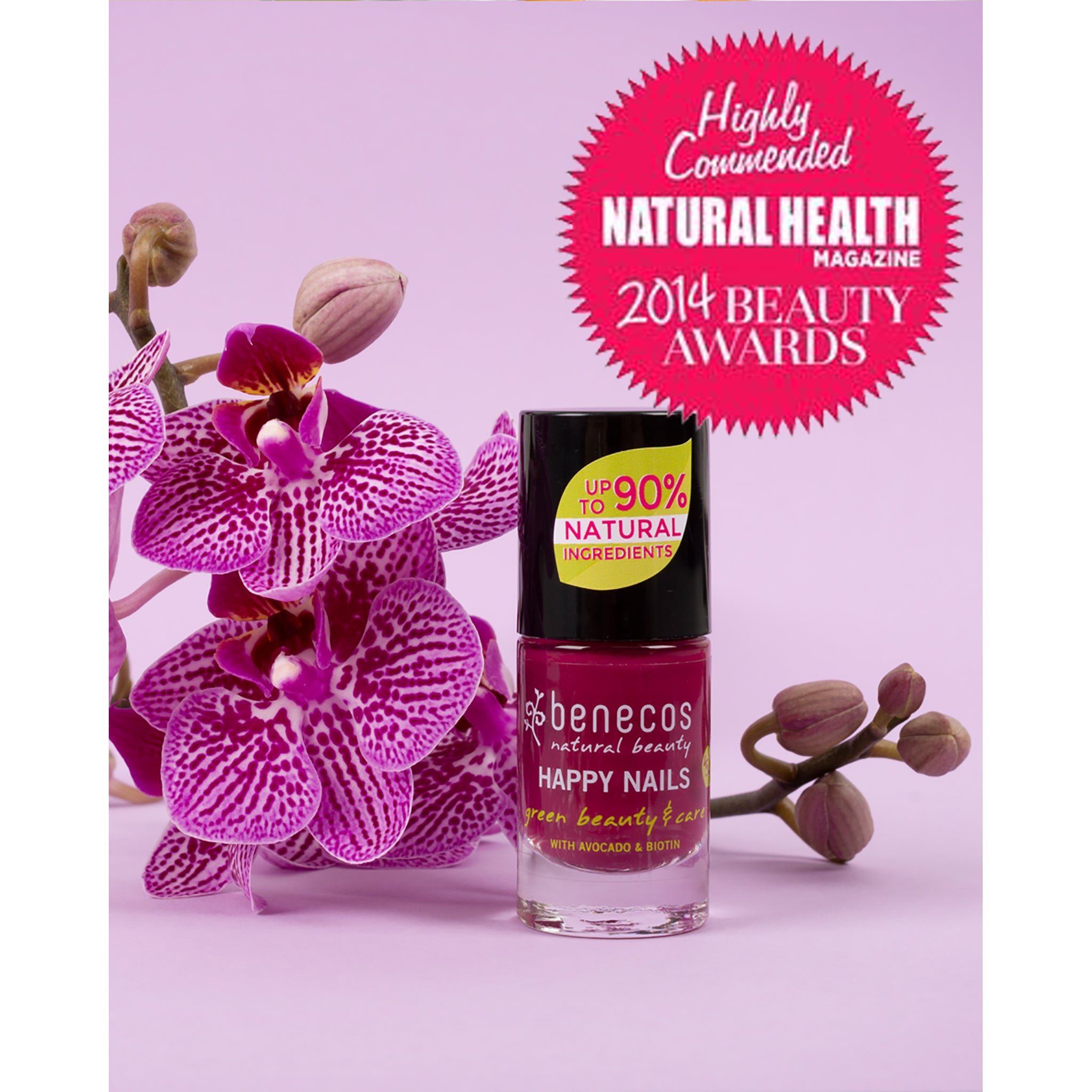 Natural Nail Polish - Wild Orchid - UK DELIVERY ONLY