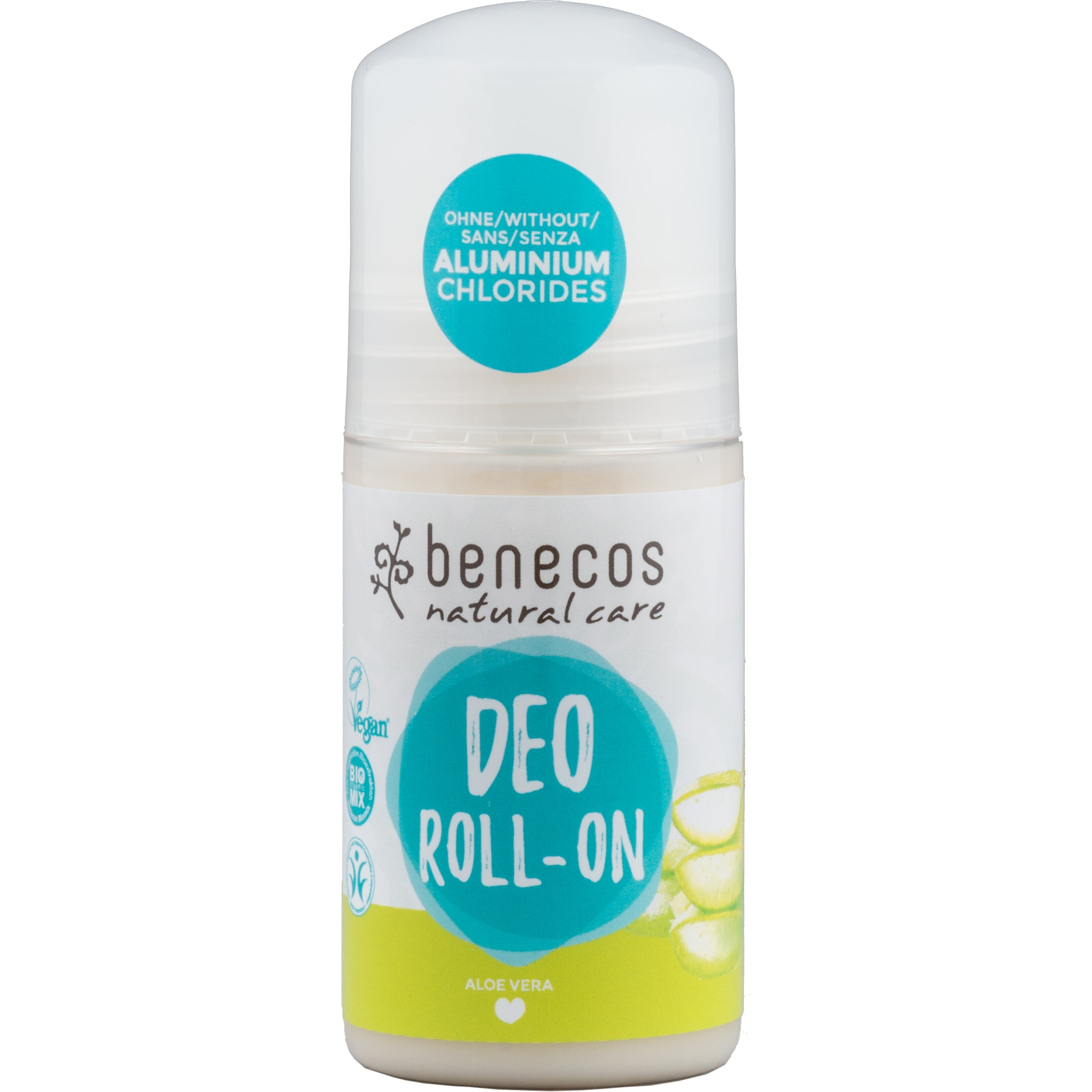 Natural Roll On Deodorant - Aloe Vera