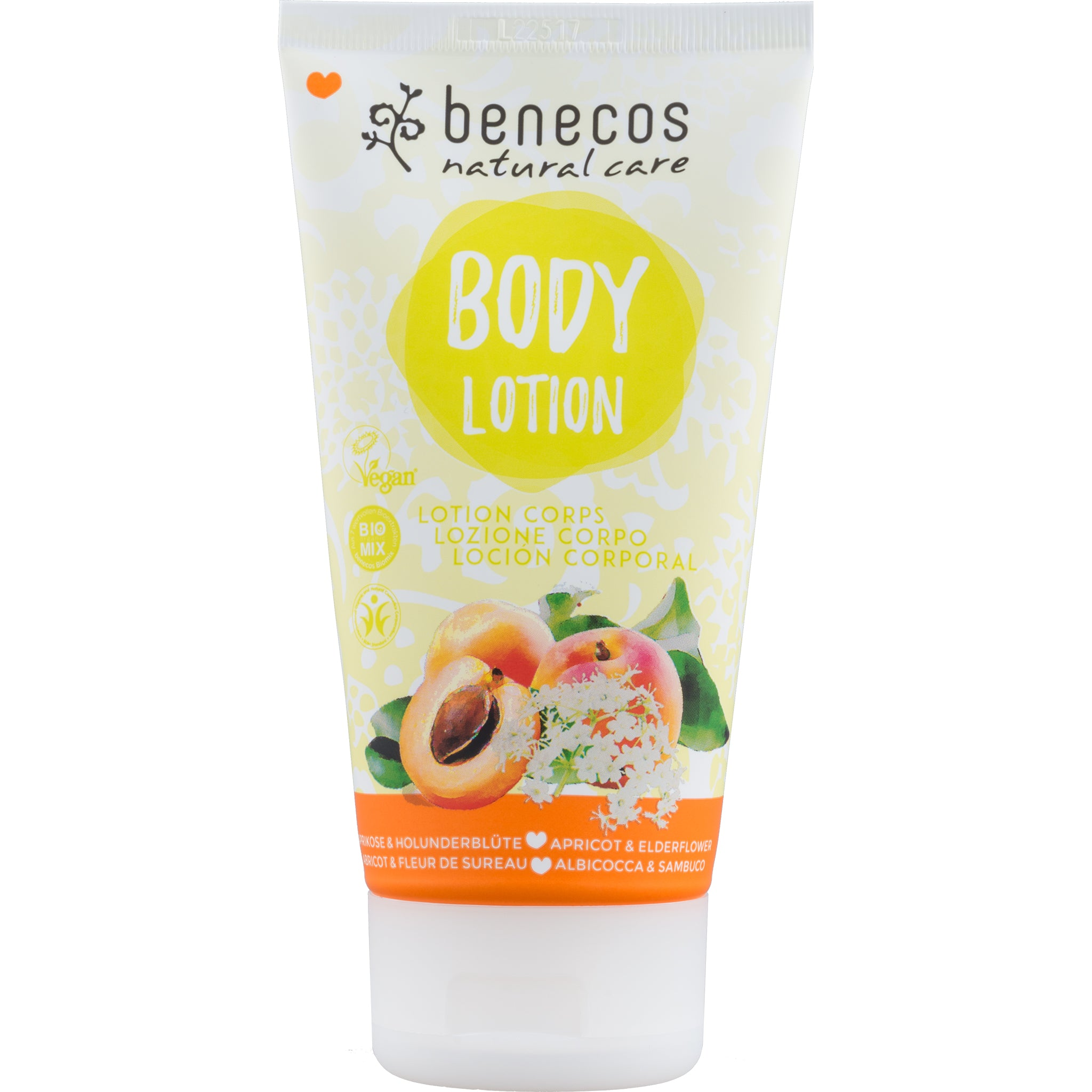 Natural Body Lotion - Apricot & Elderflower