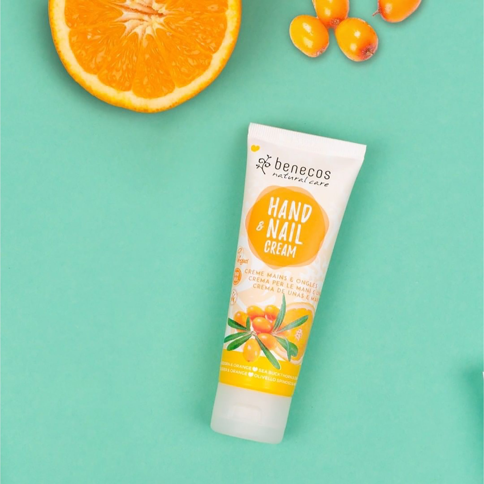 Natural Hand & Nail Cream - Sea Buckthorn and Orange