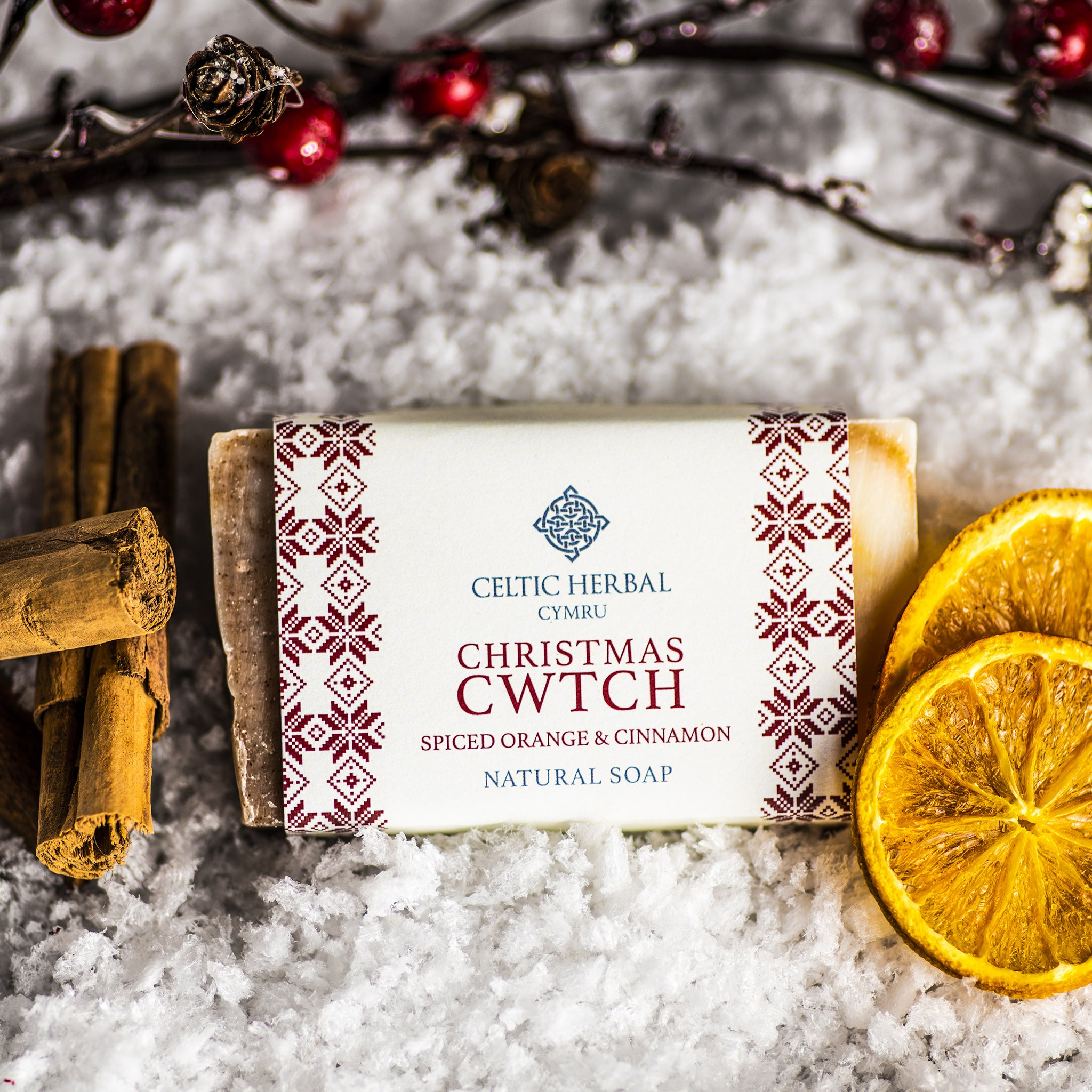 Christmas Cwtch Soap