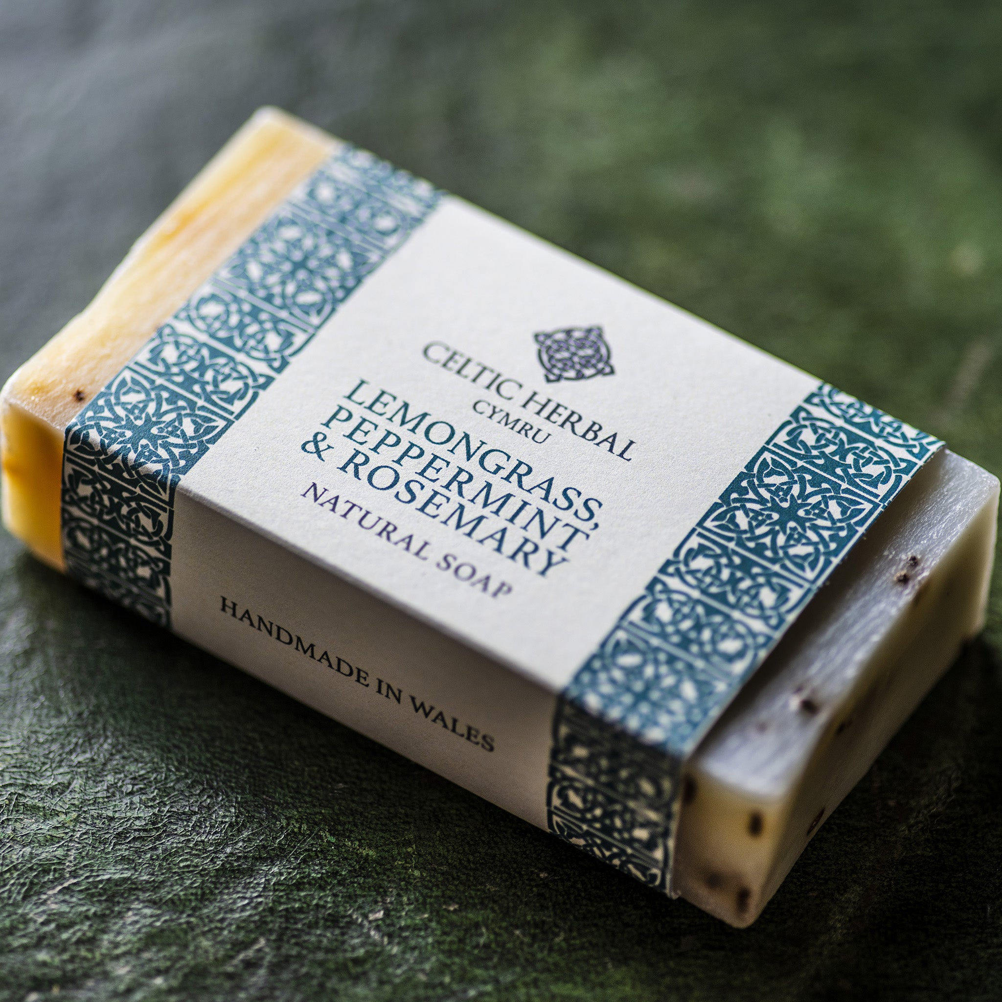 Lemongrass, Peppermint & Rosemary Soap